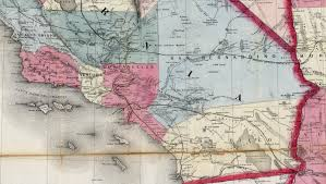 Map Southern California How Orange County Seceded From Los Angeles Kcet