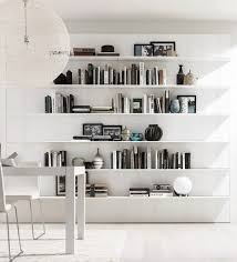 Wood Storage Shelf Designs by Best 25 Wall Mounted Bookshelves Ideas On Pinterest Wall