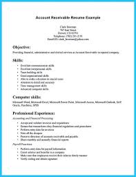 Resume Template Monster Accounts Receivable Resume Template Saneme