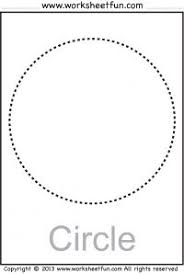 23 best shape tracing images on pinterest free printable