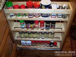 Kitchen Cabinet Spice Rack Slide by Spice Racks Slide Out Spice Rack Rack Slide Out