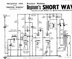 Simple Circuit Diagrams Beginners Vintage Radio And Electronics Acorn Vhf Valves Short Wave