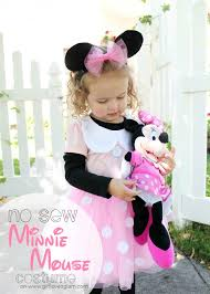 Minnie Mouse Halloween Costume Diy Diy Sew Minnie Mouse Costume Minnie Mouse Costume Mouse