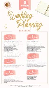 wedding planning 6 month wedding planning timeline aisle