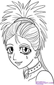 how to draw anime faces step by step anime heads anime draw