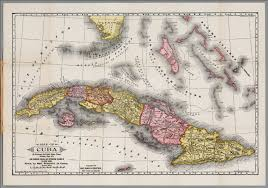 Map Cuba Map And History Of Cuba David Rumsey Historical Map Collection