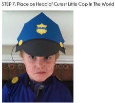Police Halloween Costume Kids Easy Diy Police Costume Kids Sewing Diy Costumes