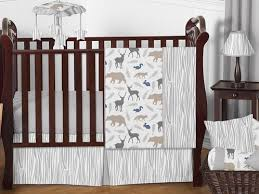 woodland animals baby bedding woodland animals baby bedding 11pc crib set by sweet jojo