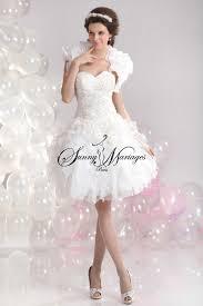 robe de mari e original robe de mariee courte simple et élégante collection chic et pas