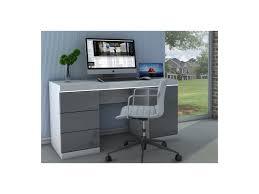 bureau blanc et gris superb bureau blanc et gris 4 bureau loic ii n 5 reverba com