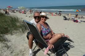Inside the Dating Scene for Single Seniors   Retirement   US News Bruce and Bernadetta Bateman on their hooneymoon