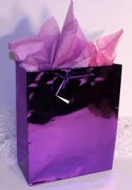 metallic gift bags gift bag metallic purple small 6 x4 x2