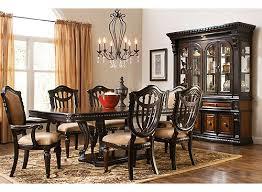 bradford dining room furniture bradford heights 7 pc dining set gold raymour flanigan