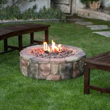 fire pits rock patio with fire pit photos gallery outdoor glass