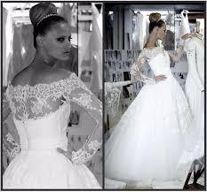 vintage wedding dresses a line bateau neck sheer lace 2015