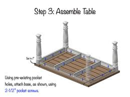 How To Build A Farmhouse Table Diy Farmhouse Table Free Plans Rogue Engineer