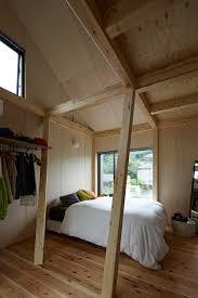 Small Mezzanine Bedroom by Angular Tree Like Columns Form Structure Of Kensuke Watanabe U0027s Y House