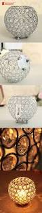 vincigant decorative candle lantern romantic sparkle silver