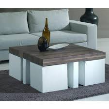 coffee table with four ottoman wedge stools coffee table with four ottoman wedge stools additional coffee table