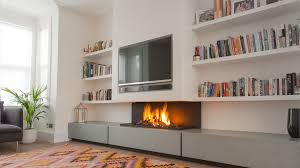 modern ventless gas fireplace corner fireplace design ideas