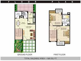 1 bhk row house plans homes zone
