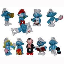 smurfs toy action figures papa smurf gargamel smurfette doll