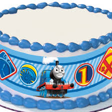 thomas friends edible image cake decoration