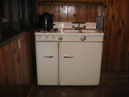 Vintage Kitchen Sinks by Vintage Stove Sink Refrigerator Combo Vintage Stoves