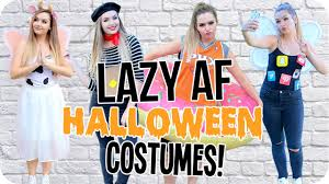 interactive halloween costumes lazy af diy halloween costumes 2016 youtube