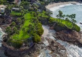 oceanfront laguna beach estate twin points sells for record