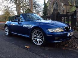 2002 bmw z3 1 9 facelift wide body full service history topaz blue