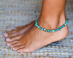 ankle bracelet from images Turquoise anklet turquoise ankle bracelet for women jpg