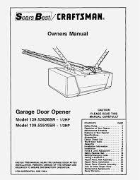garage door opener circuit chamberlain garage door opener manual stuning craftsman 1 2 hp