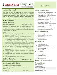 engineering resume templates design engineer resume templates 2017