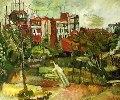 Landscape With Houses by Chaim Soutine Landscape With Red Houses C 1917 Chaim Soutine