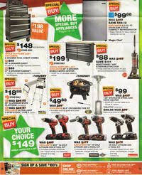 black friday sale for home depot home depot black friday 2015 ad scan