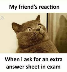 Funny Memes For Friends - friends reaction in exam funny meme funny memes