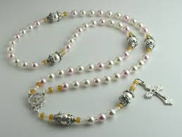 baptism rosary catholic collectibles
