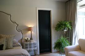 Painted Interior Doors Black Painted Interior Doors Why Not Homesfeed