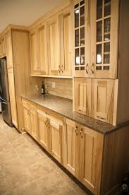 Natural Cherry Kitchen Cabinets by Natural Wood Cabinets Home Design Ideas And Pictures