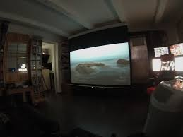 for those who are renting a small apartment and have a projector