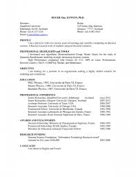 Resume Espanol Curriculum Vitae Espanol Download Contoh Resume Kerja Resume For