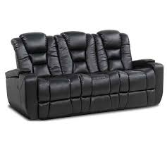 Leather Sofa Reclining Row One Evolution 8040 Reclining Sofa