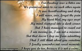 i miss you poems for ex boyfriend wishesmessages