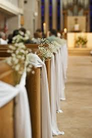 wedding pew decorations wedding decor top pew decorations for weddings in a church