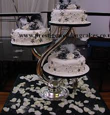3 tier wedding cake stand 3 tier cake stands for wedding cakes