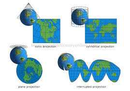 what is a map projection earth geography cartography map projections image