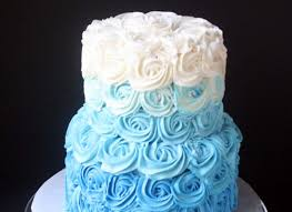 ombre cake how to bake them in every color photos huffpost