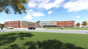 exterior view building projects perham dent public schools