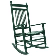 slat rocking chair green home furniture cracker barrel